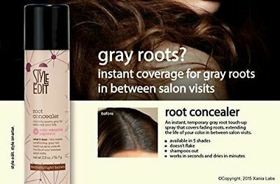 Style Edit Root Concealer Touch Up Hair Spray 2 oz Choose Your Shade / Color