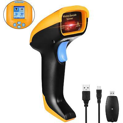 TroheStar Wireless Barcode Scanner Intelligent TFT Color LCD Screen Management 4