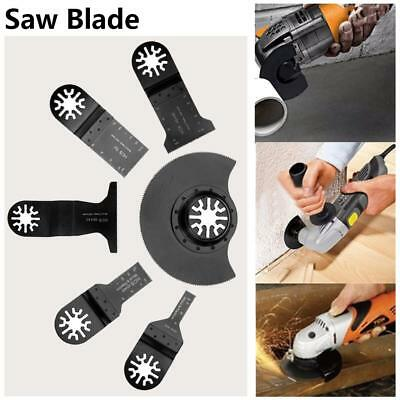 6pcs Oscillating HCS MultiTool Saw Blade Kit for Renovator Power Tools Cutting