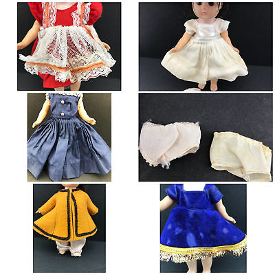 Vintage Ginny Vogue Doll Clothes Mixed Lot 1950's 60's 70's 80s Some Tagged TLC