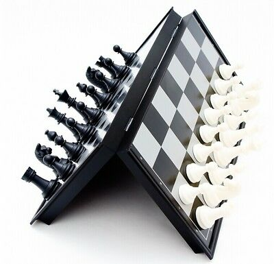 32x32 cm Magnetic Folding Chessboard Chess Board Box Set Portable Kids Game Toy