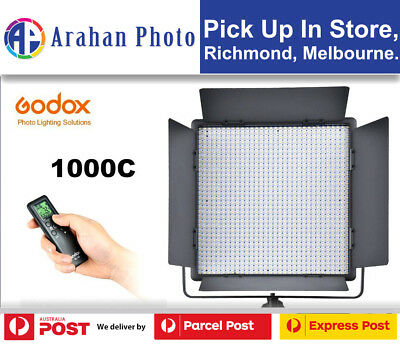 Godox LED Video Light 1000C Color Changeable LED Lighting with Remote