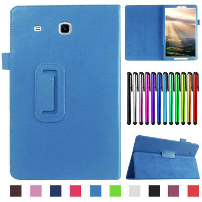 """For Samsung Galaxy Tab E 7"""" 8"""" 9.6 T560 Tablet Folio PU Leather Stand Cover Case"""