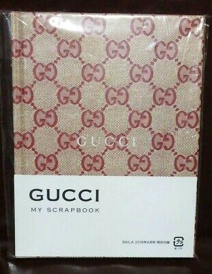 """Gucci Limited Edition BAILA Notebook """"my scrap Book"""" New In Package Japan F/S"""