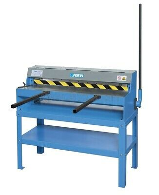 Sheet Metal Shear Machine 105 Cm With Stand Fervi T034/105