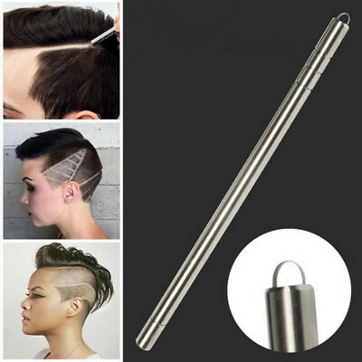 Professional Engraving Shaver Pen + 10 Blades For Hair/Eyebrows/Beards Styling