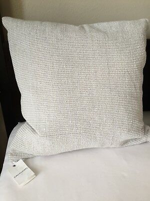 CALVIN KLEIN STRUCTURE Cotton 40 X 40 Decorative Pillow White Fascinating Calvin Klein Decorative Pillows