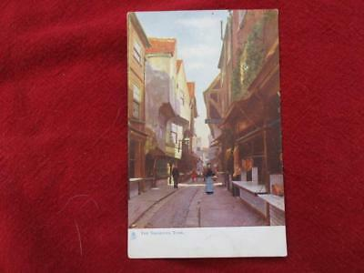 Vintage Post Card TUCK`s Oilette The Shambles Card #1465