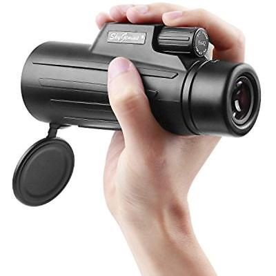 8x42 Compact Lightweight Pocket Monocular Telescope For Adults Kids. HD Quality