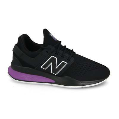 New Balance MS247TO Black / Purple Men's Trainers