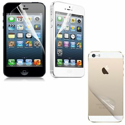 5Pcs Ultra Clear Plastic Cover Screen Protector Protective Film For iPhone 4S 5S