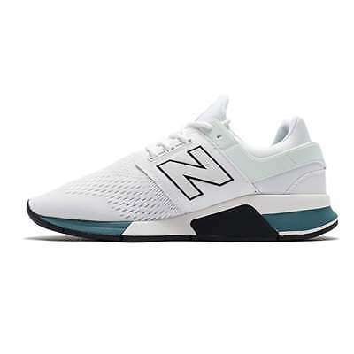 New Balance MS247TW Men's Trainers White Munsell with Outer Banks