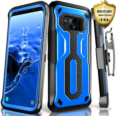 Samsung Galaxy S8 Case eSamcore Holster Belt Clip Heavy Duty Shockproof Cover