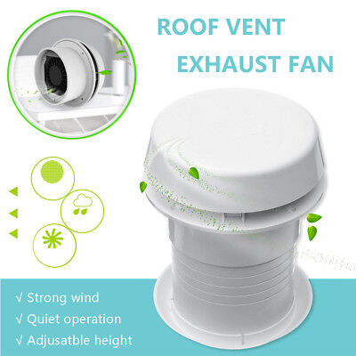 118mm 12V RV Motorhome Trailer Roof Vent Ventilation Cooling Exhaust Ceiling Fan