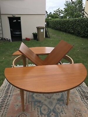 Table 110 cm Scandinave Vintage