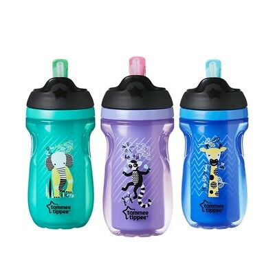 Tommee Tippee Insulated Straw Cup 12m+ CHOICE OF DESIGN BOY/GIRL (A61)