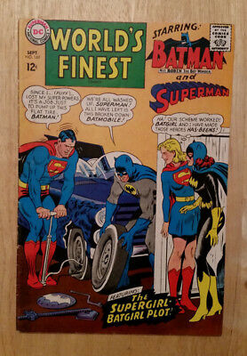Worlds Finest 169 Superman Batman Supergirl Batgirl Appearance Dc Comics