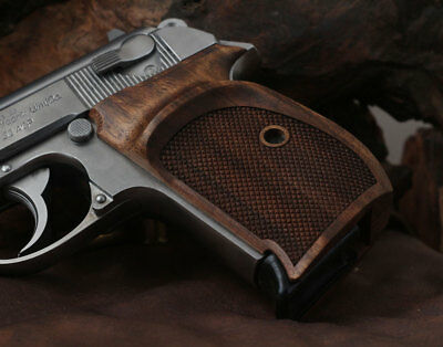 Walther PPK interarms made Orthopedic Walnut grip