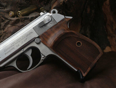 Walther PPK German made Orthopedic Walnut grip