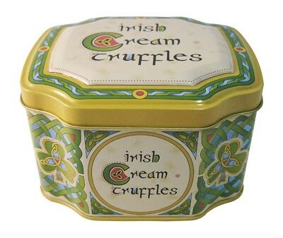 Irish Weave 120G Tin Of Cream Truffles