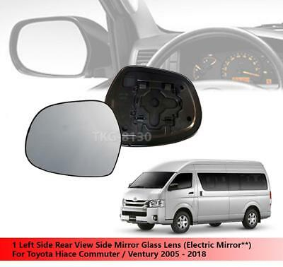 LH Left Hand FRONT Outer Door Handle Chrome For Toyota Hiace Van 2005~2014