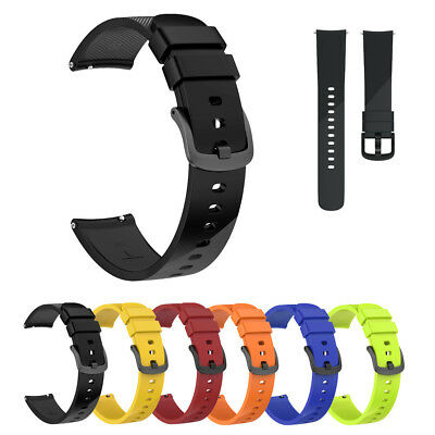 Small &Large Replacement Silicone Band Strap Wristband Bracelet For Ticwatch E