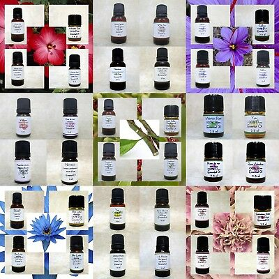 100% Pure Fragrance therapeutic Essential Oils and Rare absolutes Newly Listed