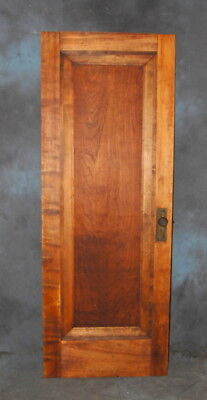"Original Antique Refinished Birch Miracle Door, 30"" x 80"" Art Deco, Vintage"