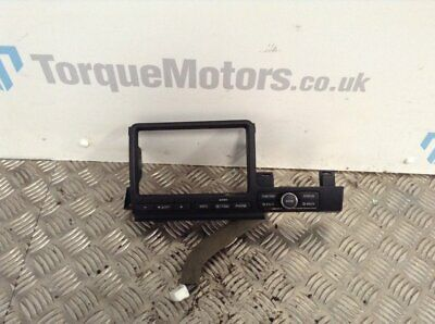 2009 Nissan GTR R35 Skyline Stereo Display Screen Surround And Buttons