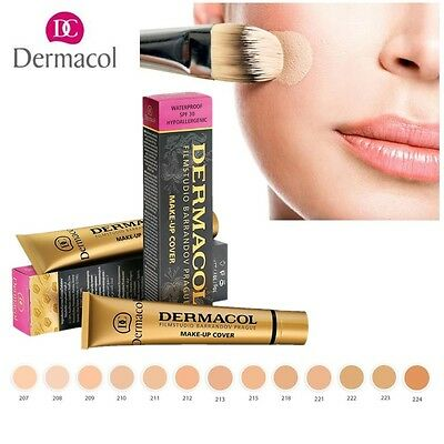 DERMACOL High Covering Foundation Legendary Film Studio Face Cover Make Up 30gNH