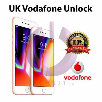 NETWORK UNLOCK CODE FOR Vodafone UK IPHONE 3 4 4S 5 5S 5C 6 6S plus 7 7+ Plus SE