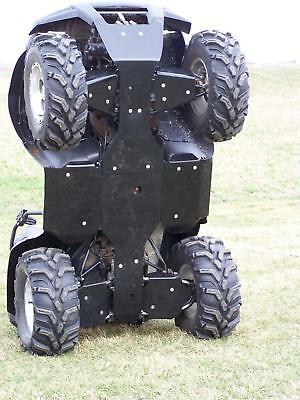 BRUTE FORCE A arm guards & Front to Rear skid plate package