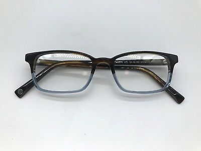 9e137d2ad73 Warby Parker Wilkie Designer Eyeglasses 50-18-145 Eastern Bluebird Fade  Glasses