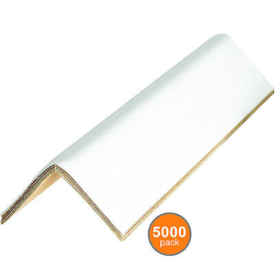 "1 SKID Edge Protectors .120"" thick, 2 x 2 x 24 Corner Protector, 5000 Pack"