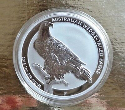 Australien 1 Dollar 2016 ° 1 oz. 9999 Silber ° Wedge-Tailed Eagle °