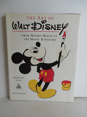 1975 The Art of Walt Disney From Mickey Mouse to The Magic Kingdom Book