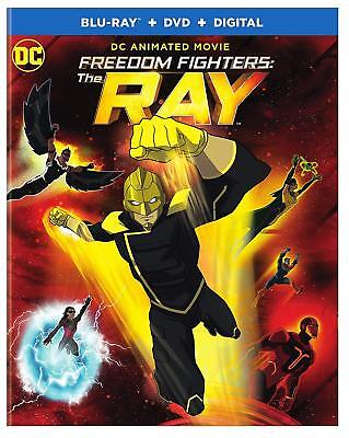 D.C. THE FREEDOM FIGHTERS - THE RAY   -  Blu Ray - Sealed Region free