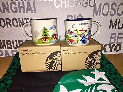 Starbucks City You Are Here 14 Oz/414ml Nürnberg / Germany 1 Tasse Mug