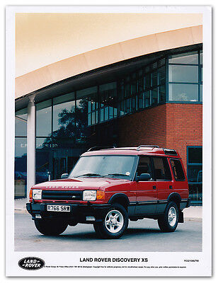 Land Rover Discovery XS Press Release Photograph