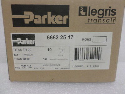 "Parker 6662 25 17 Transair 25 mm (7/8"") Assembly Reducing Bracket to 16.5mm (1/2"