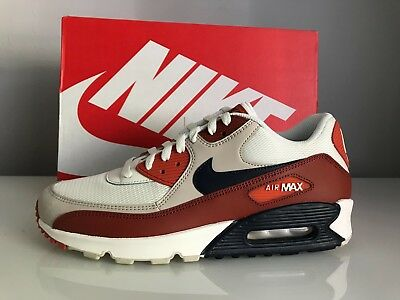 newest collection 2ae4e 9ca1d Nike Air Max 90 Essential Men s Trainers AJ1285-600 Mars Stone Obsidian