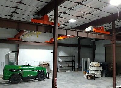 Bridge Crane, 5 ton Kone Overhead Electric Traveling Bridge Crane, qty 2