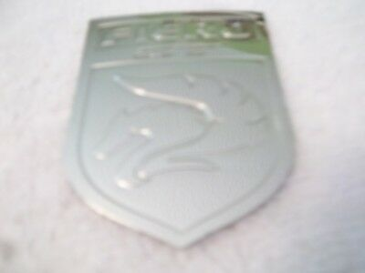 Custom Made Pontiac Fiero GT Adhesive Metal Emblem Medallion