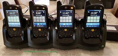 Zebra/Motorola/Symbol 4 x MC659B and four slots charging only Cradle