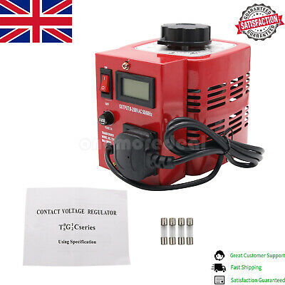 APS-500W 0.5kva Variac Autotransformer Voltage Regulator Powerstat 2A 0-250V UK