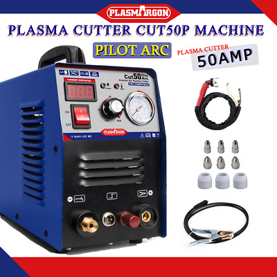 Plasma Cutter CUT50 Pilot Arc 50A 110/220V CNC Protable  accessories & 1-12mm HQ