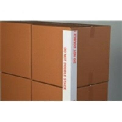 1600 - 3 x 3 x 48 .160 Do Not Double Stack Printed Edge Protector