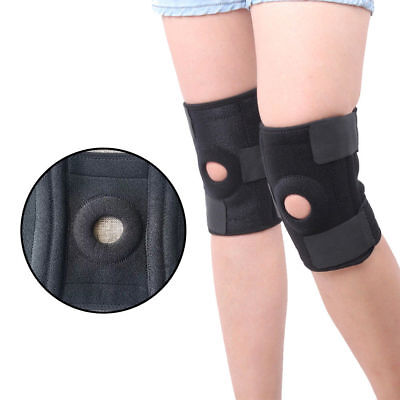 2 Adjustable Knee Patella Support Cap Stabilizer Sport Knee Brace Arthritis Pain