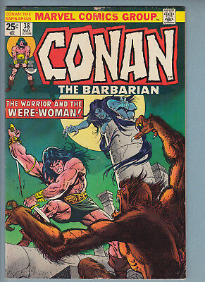 Conan 38 (May 1974) Marvel Comic VG 50% off guide