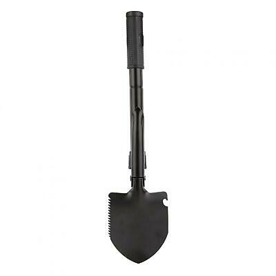 Folding Shovel Tactical Saw Survival Spade for Camping Backpacking W/ Compass GL